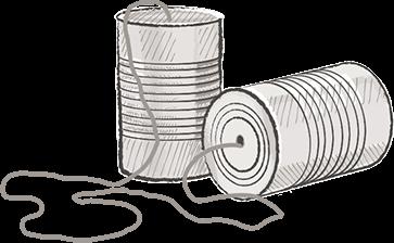 tin can logo